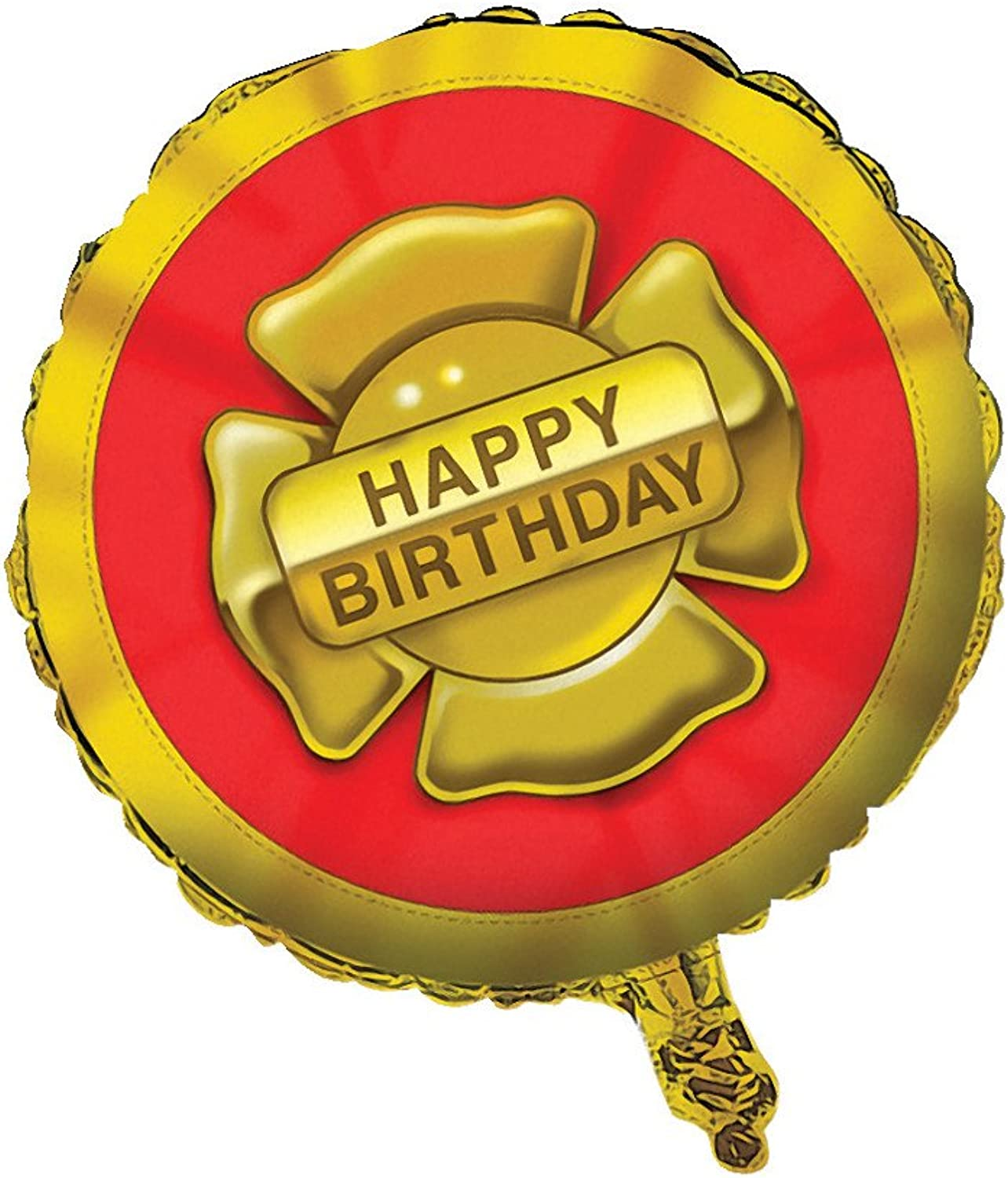 Kidspartyworld.Com Firefighter Metallic Balloon  18 Inch  1 Pkg