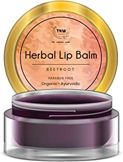 TNW – The Natural Wash Herbal Beetroot Lip Balm For Soft & Shiny Lips (Paraben-free)