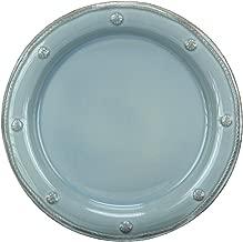 Juliska Berry & Thread Round Dessert Plate -blue