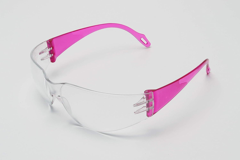 Gafas de Seguridad Ciencia para NIños Chicos Material Policarbonato Fucsia
