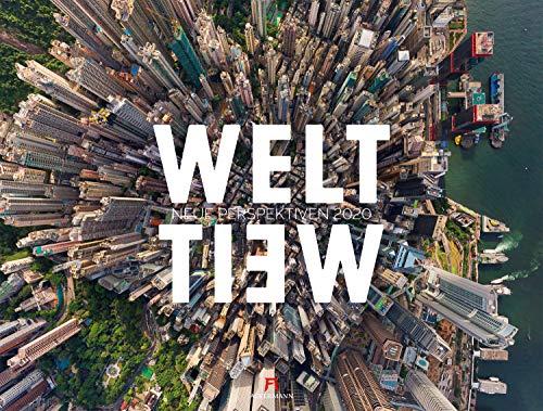 WeltWeit - Die Welt aus der Drohnen-Perspektive 2020, Wandkalender im Querformat (66x50 cm) - Architekturkalender mit Luftaufnahmen / Drohnenfotografie