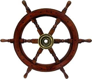 Best boat steering wheel wood Reviews