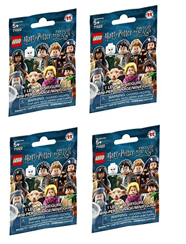 LEGO Harry Potter Fantastic Beasts Minifigure Series - Random Pack of 4 (71022)