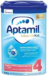 Aptamil Advance Kid 4 Next Generation Growing Up Formula From 3-6 Years, 900G