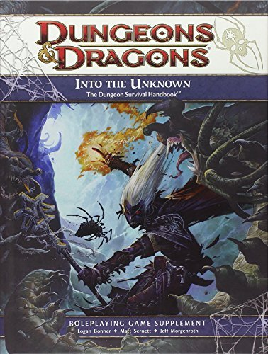 Into The Unknown The Dungeon Survival Handbook Dungeons And Dragons By Rpg Team 2012 05 15