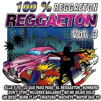 Reggaeton 100 %-Vol. 3