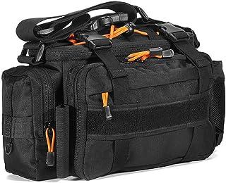 Funien多機能釣りタックルバッグアウトドアスポーツ釣りルアータックルギアユーティリティ収納バッグショルダーバッグパック