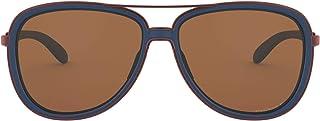 نظارات شمسية من اوكلي باطار ازرق /بني