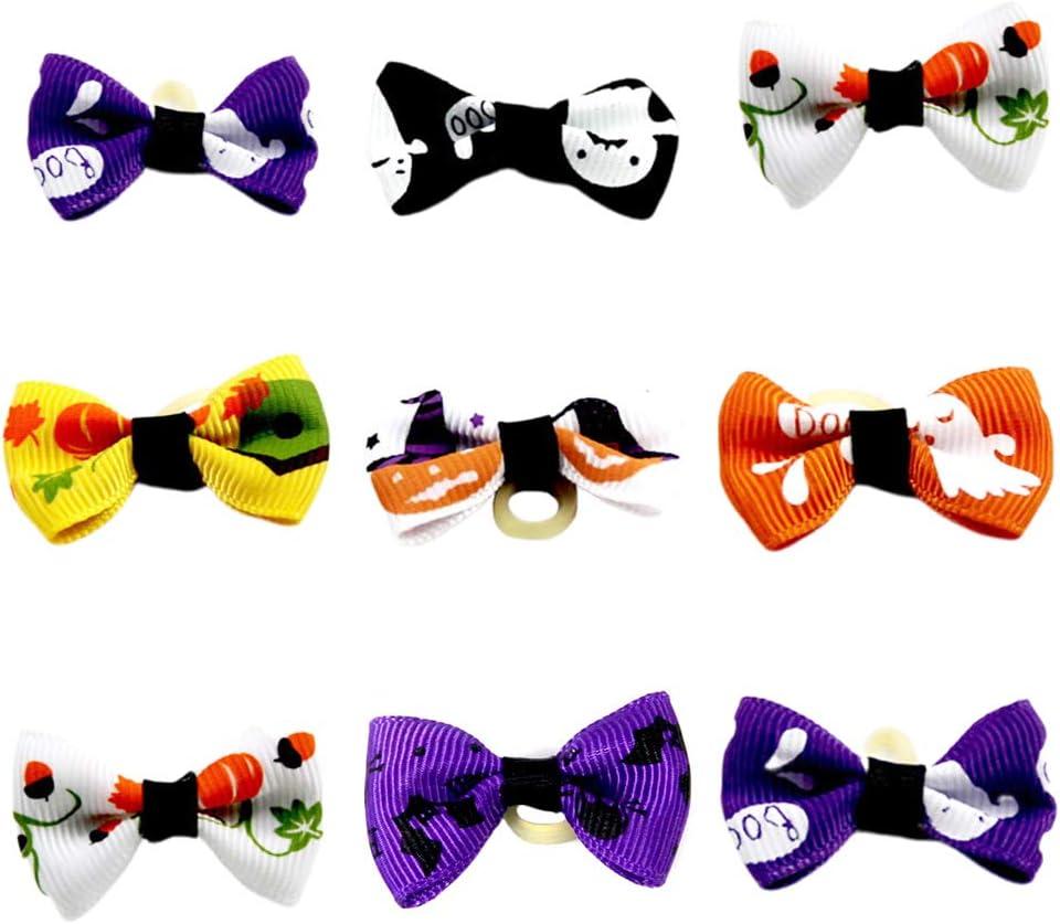 Pet Max 76% OFF Halloween Supplies- 24Pcs Dog Pe Finally popular brand Bows Fashion Hair