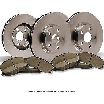 2007 2008 Mitsubishi Outlander OE Replacement Rotors w//Metallic Pads F+R