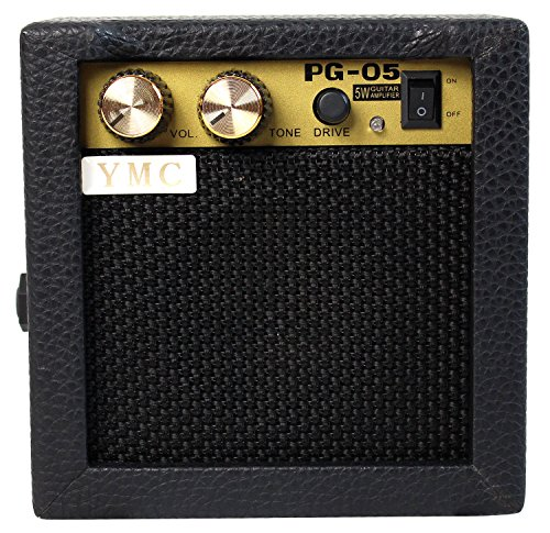 Great Deal! YMC PG-05 5W Electric Guitar Amp Portable Amplifier Speaker with Volume Tone Control