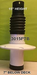 Pro Pedestal Boat Seat, Standard Shock Absorbing Thru Base Model 3015PTB-15