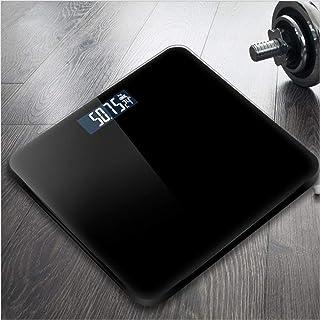 Báscula de pesaje electrónica para el hogar Pesaje de salud precisa para adultos Báscula para el cuerpo de niña Corporal Home Smart-black