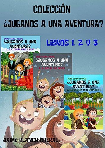 Colección ¿Jugamos a una aventura? Libros 1, 2 y 3