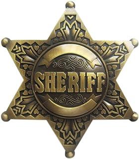 Sheriff's Badge II Belt Buckle