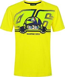 VR46 Valentino Rossi Cupolino - Camiseta oficial para hombre, color amarillo