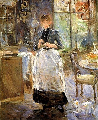 Das Museum Outlet–1884Berthe Morisot Dans La Salle eine Krippe Peinture Huile sur Toile–Leinwanddruck Online kaufen (152,4x 203,2cm)