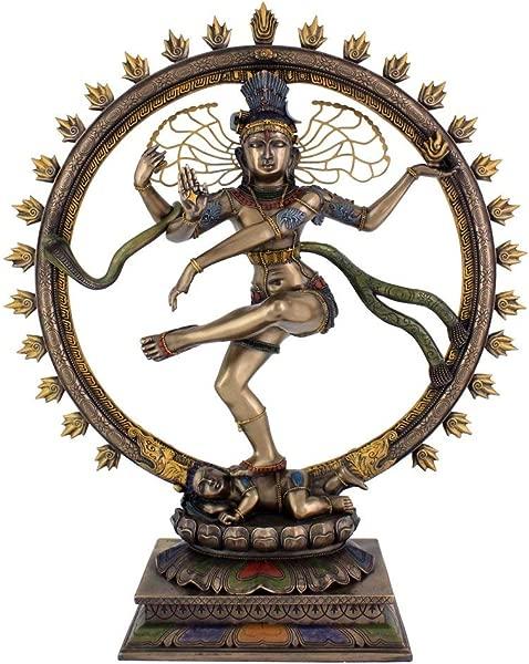 PARIJAT HANDICRAFT Large Lord Nataraja Dancing Shiva Statue Sculpture Figure