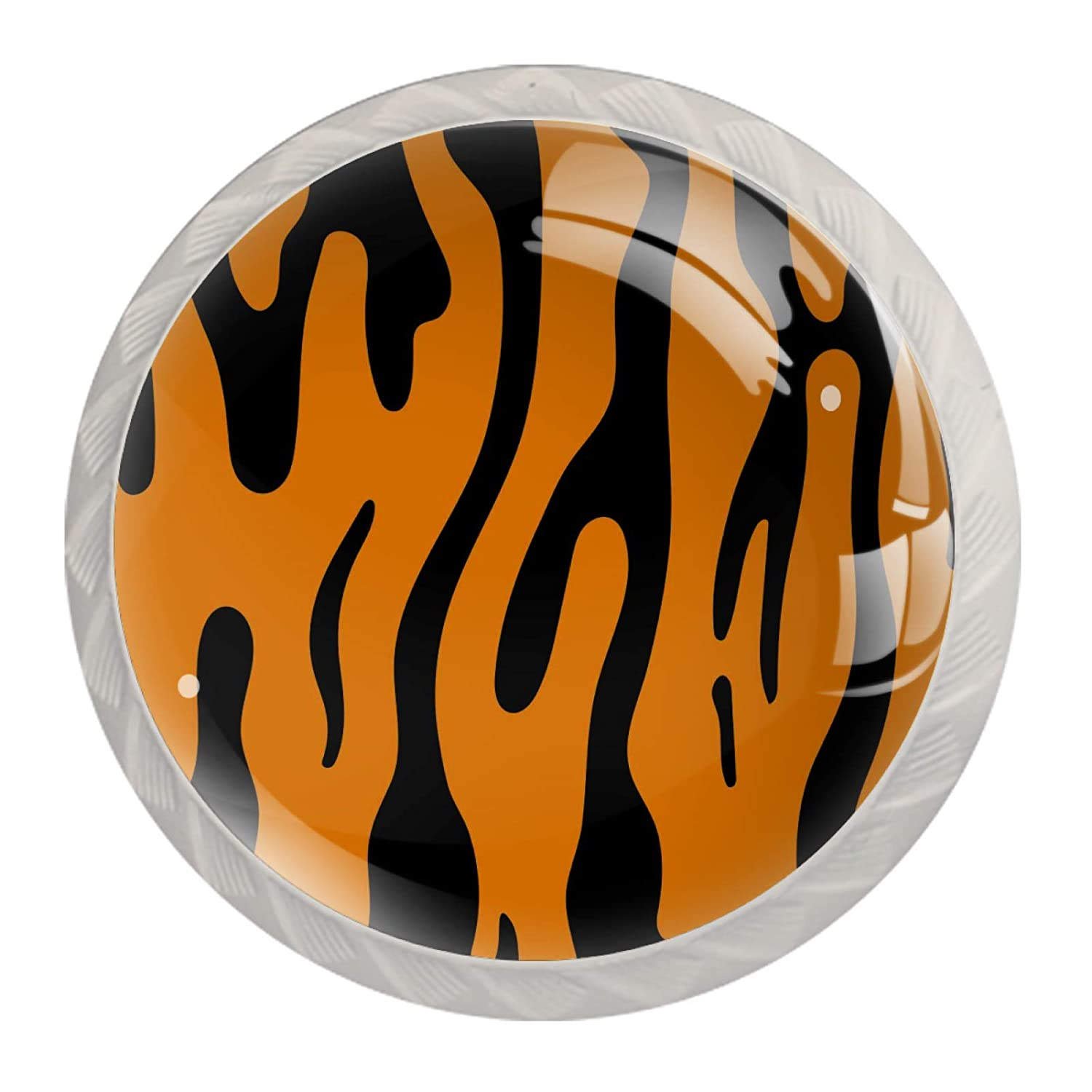 Wardrobe Ranking integrated 1st place Over item handling ☆ Knobs Tiger Stripes Cabinet Kitchen Pattern Home