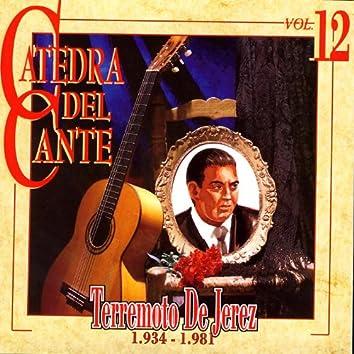 Catedra Del Cante Vol. 12: Terremoto de Jerez