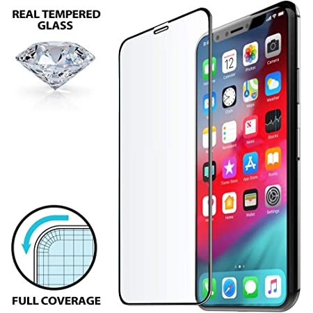 BW Blackwik Premium Tempered Glass Apple iPhone 11 / iPhone XR (With 4 Months Warranty) (With Precise Speaker & Sensor Cut) (Full Edge to Edge Coverage)