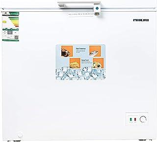 Nikai Chest Freezer 5.1 Cubic Feet 145 Liters White NCF200N20