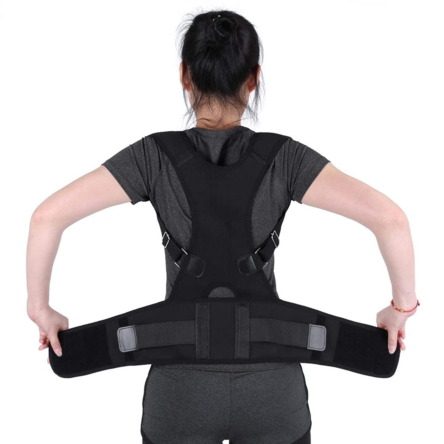 Posture Challenge the lowest price of Japan ☆ Corrector Adjustable Back Luxury Brace Suppor Lumbar Belts with