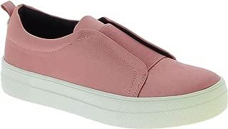 Steve Madden Luxury Fashion Womens 5067PINK Pink Slip On Sneakers | Season Outlet