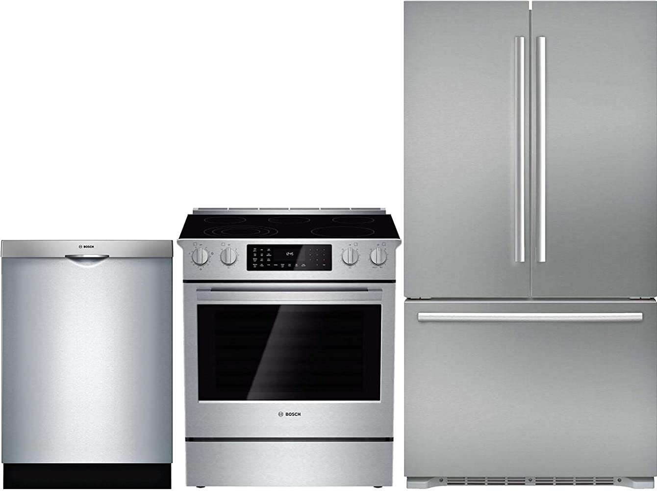 Bosch 3 Piece Kitchen Appliance Package with B21CT80SNS 36