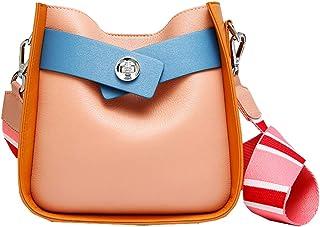 Heshe Women's Leather Shoulder Handbags Tote Bag Top Handle Bags 2 in 1 Handbags Set Ladies Purses