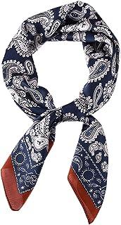 منديل حريري مربع الشكل حقيبة يد وشاح الشعر سوار هدية للنساء / الرجال