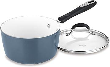 Cuisinart 3 Qt. Saucepan w/Cover - Slate Blue, 3 quart