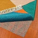 Alfombrilla antideslizante para alfombra de suelo radiante, alfombrilla antideslizante para suelos lisos y duros, tope para alfombras para un hogar seguro (60 x 100 cm)