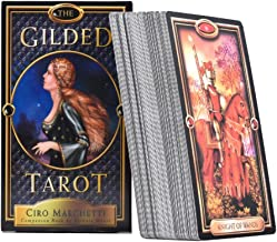 Tarot Card The Gilded Tarot Cards Deck and Guidebook Tarot Guidebook Table Game Cards for Family Gathering Party 78PCS
