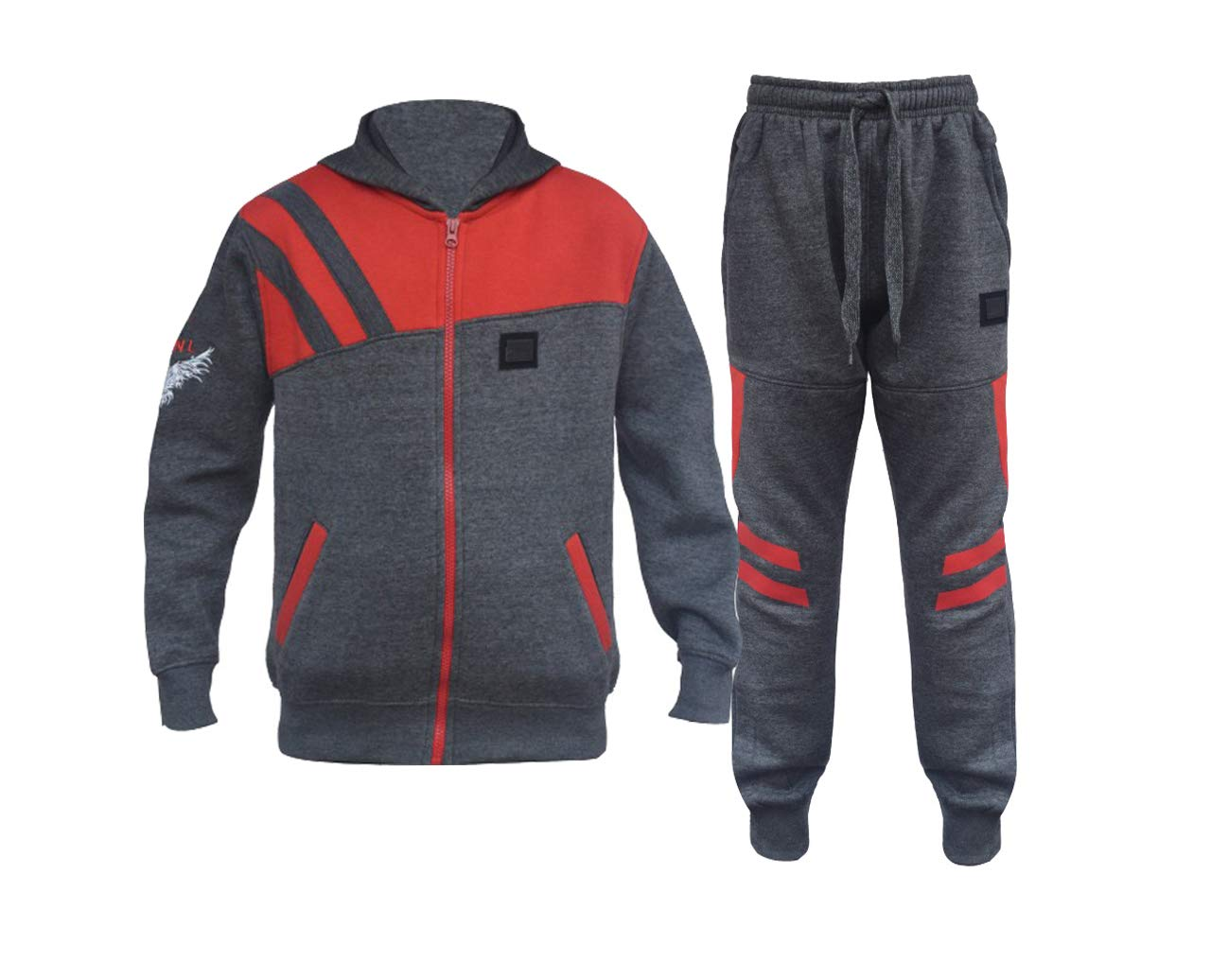GUBA/® Kids Boys Girls HNL Projection Tracksuit Hoodie and Bottom Jogging Suit 2-13 Years
