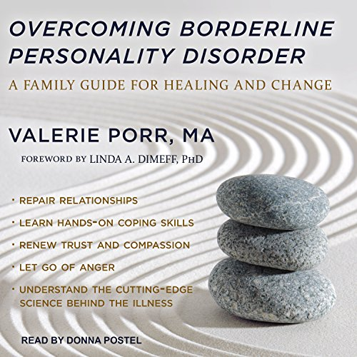 Overcoming Borderline Personality Disorder audiobook cover art