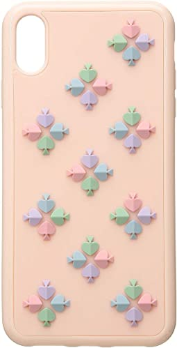 Silicone Spade Flower Phone Case for iPhone XS Max
