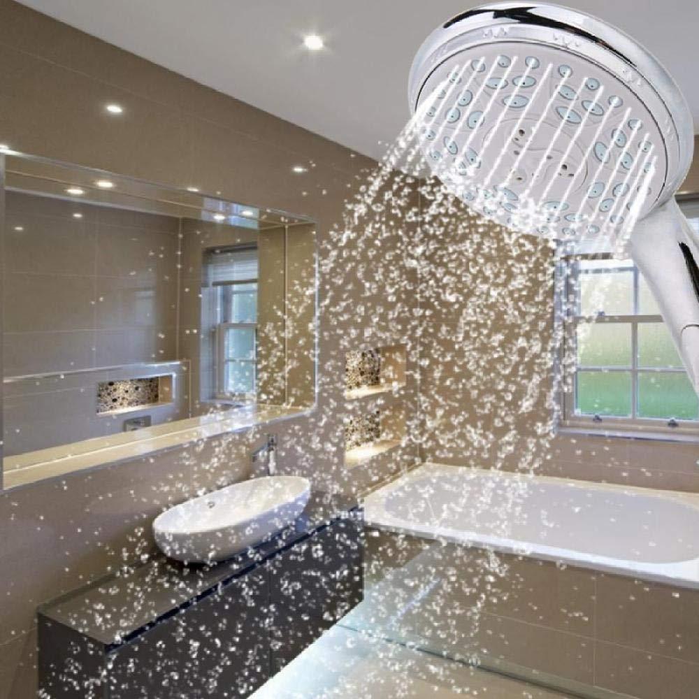 KangHS Ducha de mano/Baño Rociador de ahorro de agua Facuet Cabezal de ducha de mano Cabezal de ducha ajustable Alta presión Khs-A046: Amazon.es: Bricolaje y herramientas