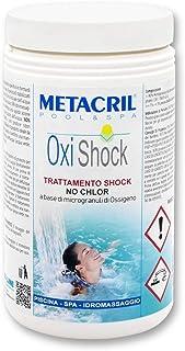 Metacril OxiShock 1,5 kg – Oxígeno Shock en microgránulos – Ideal para piscina o hidromasaje (Teuco, jacuzzi,Dimhora,Intex,Bestway,etc)