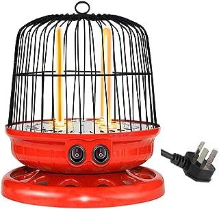 LTLJX Radiador Halógeno, Termoventiladores Estufa 800W 2 Tubos de Cuarzo Calefactor Calentador para Hogar y Oficina