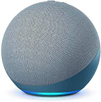 Echo (4th Gen, 2020 release) | Premium sound powered by Dolby and Alexa (Blue)