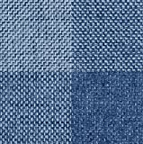 Raumausstatter.de Möbelstoff Rio KARO 905 Karomuster blau