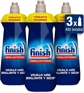 Finish Triplo Abrillantador Lavavajillas - Pack de 3