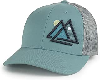Outdoors Day and Night Trucker Hat Mesh Cap
