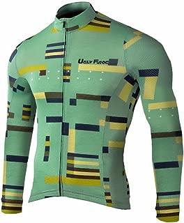 Uglyfrog 2019 Bike Wear De Camiseta Ciclismo con Manga Larga MTB Maillot Triatlon Ciclismo Hombre Equipacion Ciclista Actualización de Estilo ESHSLJ01