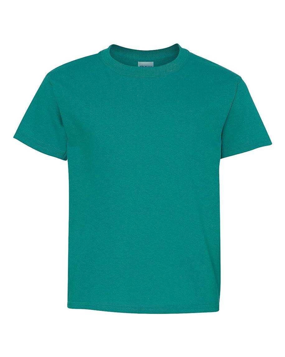 Gildan Big Boys Heavy Taped Neck Comfort Jersey T-Shirt
