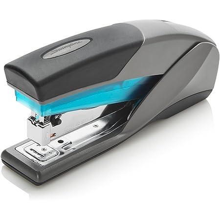 Swingline Stapler, Optima 25, Full Size Desktop Stapler, 25 Sheet Capacity, Reduced Effort, Blue/Gray (66404) - SWI66404