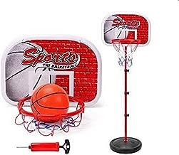 Outdoor Fun & Sports Activity Game Mini Indoor Adjustable Basketball Stand Basket Holder Hoop Goal Child Kids Boys Toys Sport