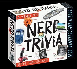 365 Days of Nerd Trivia 2019 Page-A-Day Calendar