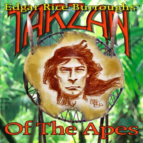 Tarzan of the Apes audiobook cover art